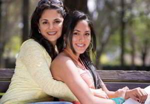 Наводим красоту вместе с дочками
