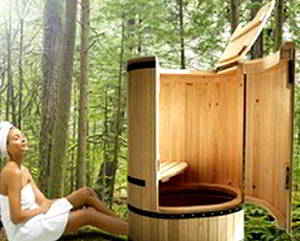Деревянные купели для бани