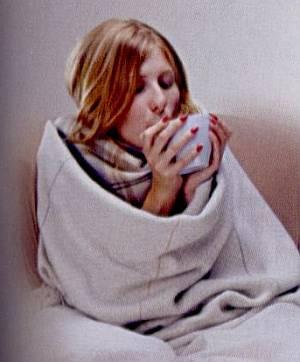 Как легче перенести простуду